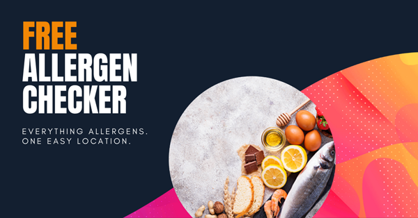 allergen checker for easy food safety compliance