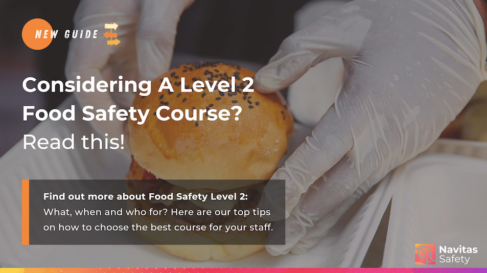 Considering a Level 2 Food Safety course? Read this!