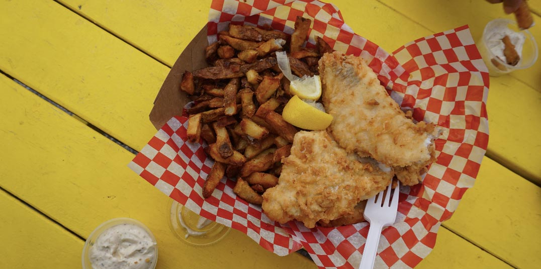 Fish and Chips Latest food trends - Vegan Alternatives